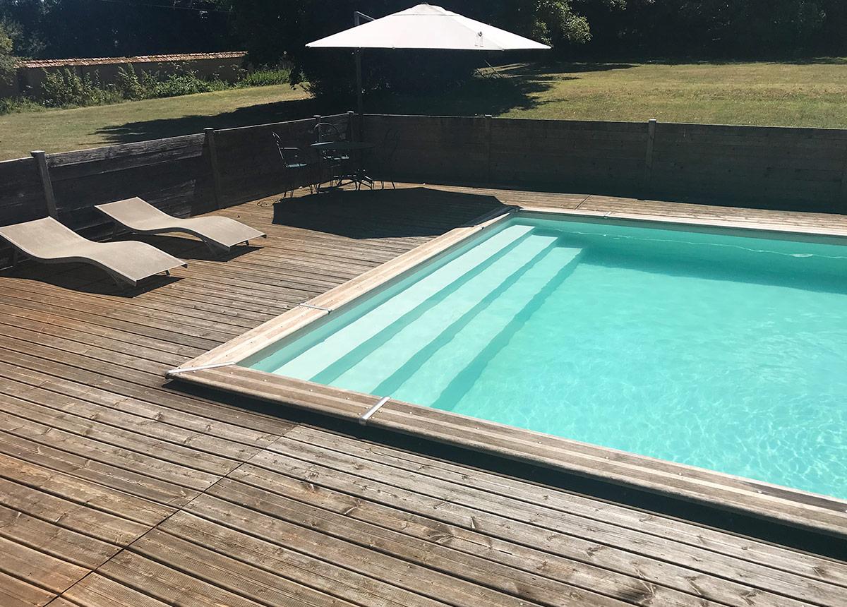 Chambre d'hôtes avec piscine Nièvre